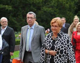 Grzegorz Miecugow z żoną Joanna we wrześniu 2012 roku