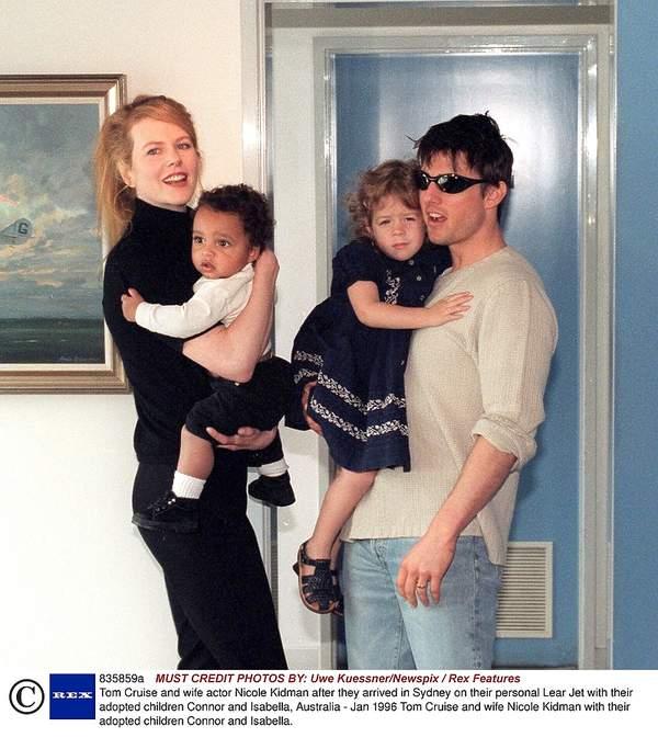 Gwiazdy adoptują dzieci, Nicole Kidman