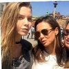 Gwiazdy i ich córki jak siostry, Kinga Rusin z Polą i Igą Lis, Reese Witherspoon z córką Evą