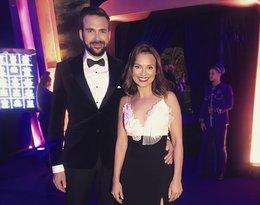 Gwiazdy na balu z okazji 20-lecia TVN: Anna Starmach z mężem