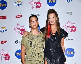 Gwiazdy na Top of the top festiwal w Sopocie, dzień drugi: Edyta Górniak z synem Allanem Krupą
