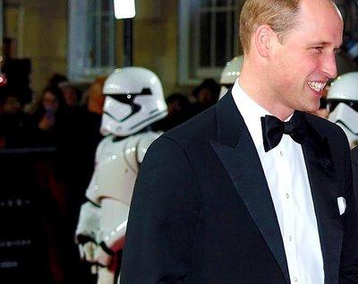 Gwiezdne wojny, książę William i książę Harry