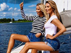 Hanna Lis i Joanna Przetakiewicz o swojej przyjaźni w nowym wydaniu magazynu VIVA!, sierpień 2017