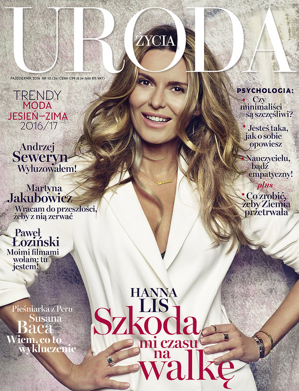 Hanna Lis, URODA ŻYCIA październik 2016