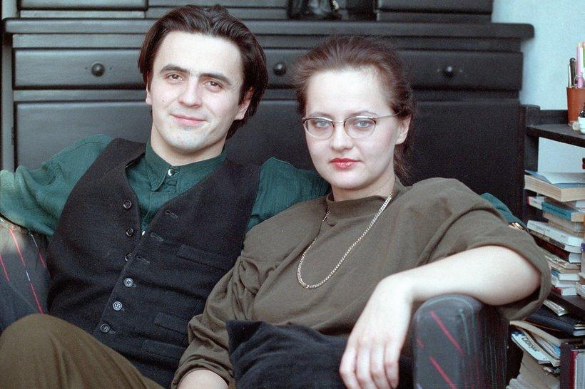 Hanna Wrycza-Polk, Piotr Polk, styczeń 1991