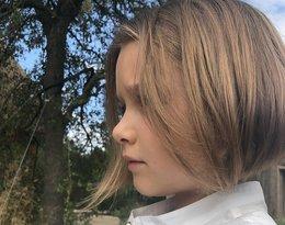 Harper Beckham ma krótkie włosy. Metamorfoza córki Davida i Victorii Beckhamów