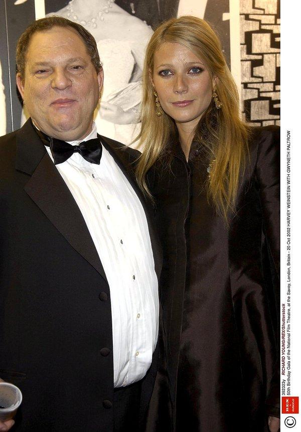 Harvey Weinstein, Gwyneth Paltrow
