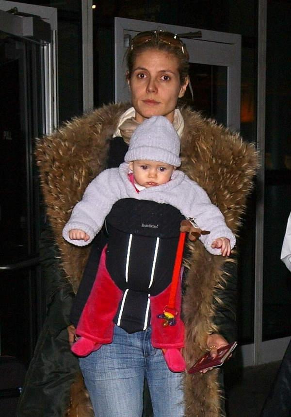Heidi Klum, córka Heidi Klum, Leni, Leni Briatore, 2004 rok