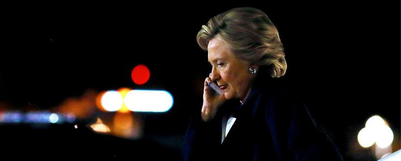 Hillary Clinton w nocy