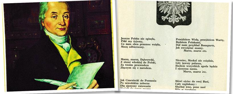 Hymn Polski, Mazurek Dąbrowskiego, Józef Wybicki