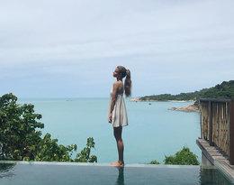 Iga Lis na wakacjach, córka Rusin i Lisa na wakacjach, wakacje Igi Lis w Bangkoku