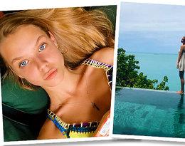 Iga Lis zamieściła zdjęcie z wakacji w bikini! Czy ma równie perfekcyjną sylwetkę, co sławna mama?