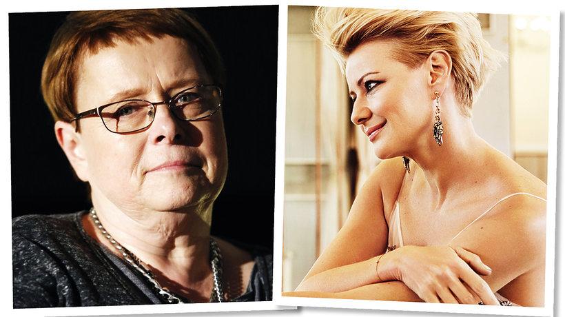 Ilona Łepkowska, Małgorzata Kożuchowska, M jak miłość, VIVA! grudzień 2015