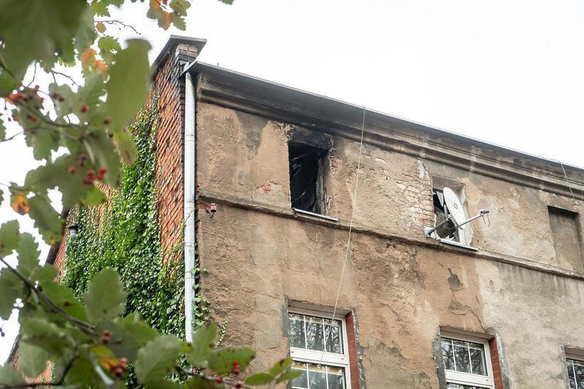 Inowrocław, pożar, 28.10.2019 rok