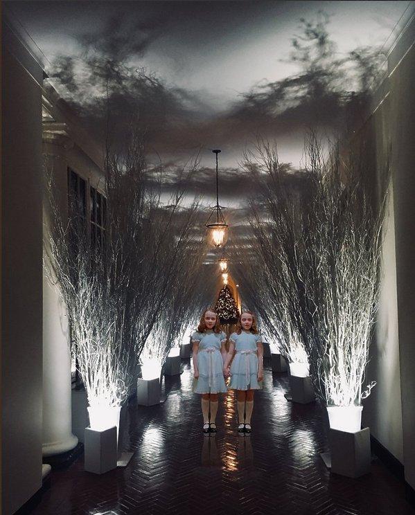 Internauci wyśmiali świąteczną dekorację Melanii Trump