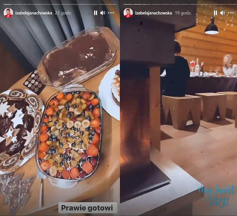 Izabela Janachowska, Boże Narodznie 2020, święta 2020, Wigilia