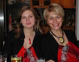 Izabela Jaruga-Nowacka z córką Barbarą