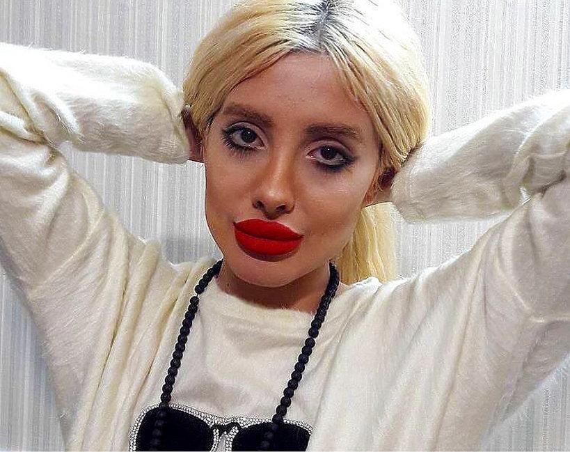 Jak wygląda teraz Sahar Tabar zombie Angelina, nazywana sobowtórem Jolie?