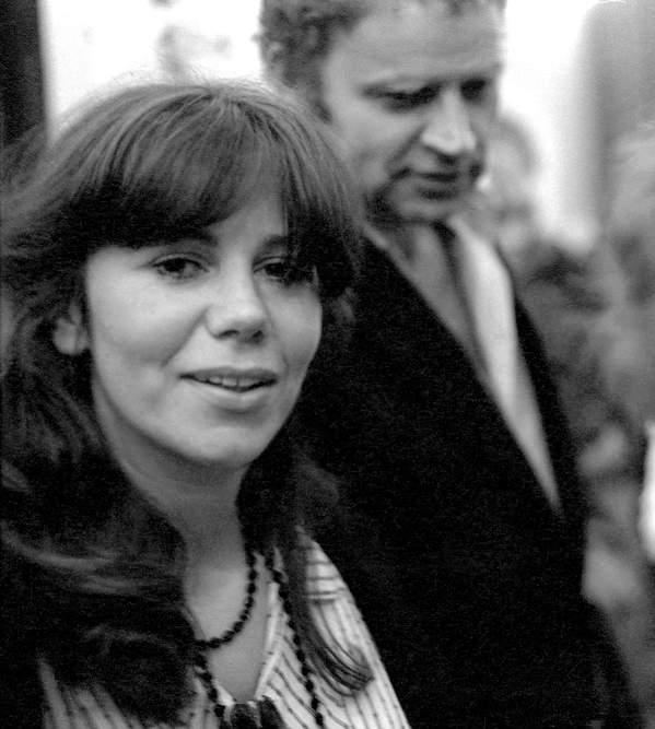 Janusz Głowacki, jego pierwsza żona Ewa Zadrzyńska, Warszawa, 11.07.1980 rok
