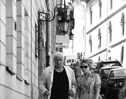 Janusz Głowacki z córką Zuzanną Głowacką
