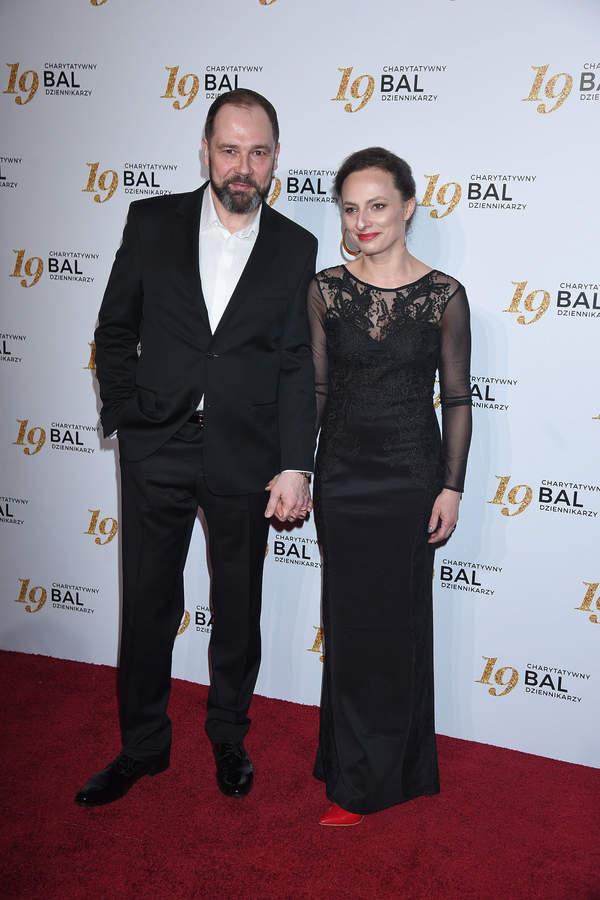 Jarosław Kulczycki, partnerka, żona Dorota, 16.02.2019