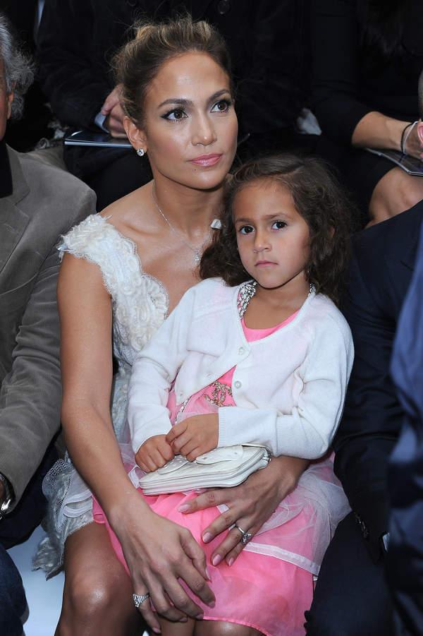 Jennifer Lopez, córka Jennifer Lopez, Emma Mirabel Muniz, 02.10.2013 rok
