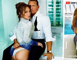 """Jennifer Lopez po raz pierwszy w zmysłowej sesji z Alexem Rodriguezem! Zobaczcie kipiące seksem zdjęcia pary dla grudniowego numeru """"Vanity Fair"""""""
