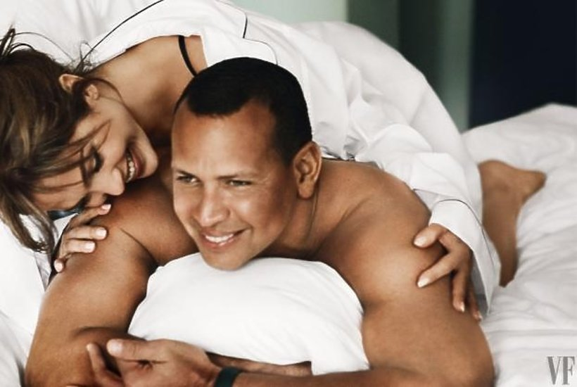 Jennifer Lopez i Alex Rodriguez na okładce Vanity Fair
