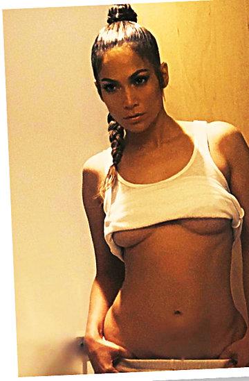Jennifer Lopez, J.Lo., Jennifer Lopez nago