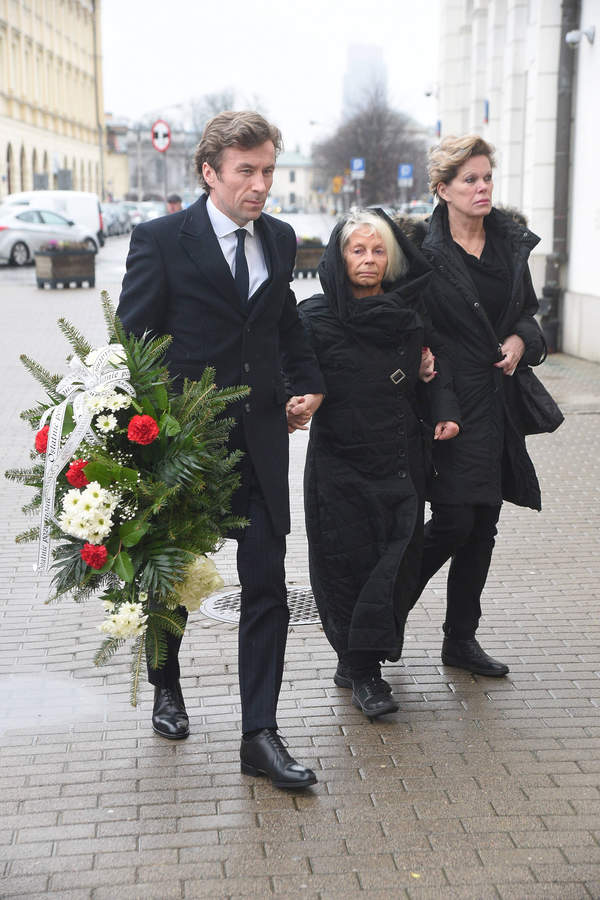 Jerzy Gruza, pogrzeb Jerzego Gruzy, Krystyna Morgenstern