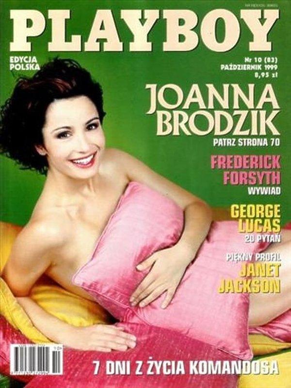 Joanna Brodzik, Playboy