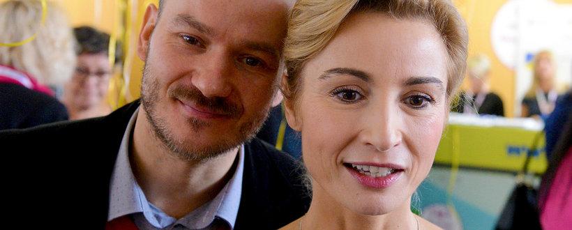 Joanna Brodzik pochwaliła się bratem Radosławem. Tak wygląda brat aktorki