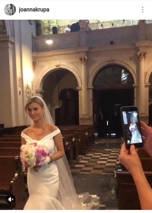 Joanna Krupa, ślub