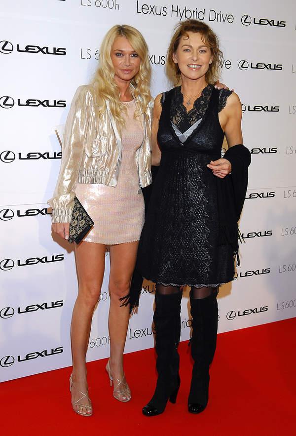 Joanna Pacuła, Ewa Pacuła, 15.09.2007 rok, Lexus Fashion Show 4