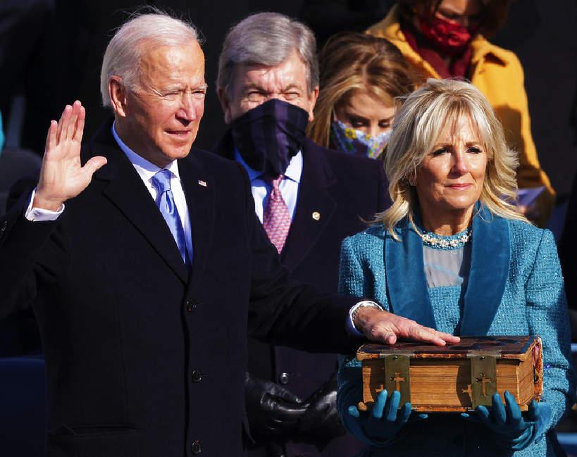 Joe Biden, Jill Baiden, 20.01.2021