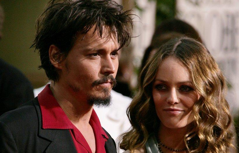 Johnny Deep i Vanessa Paradis
