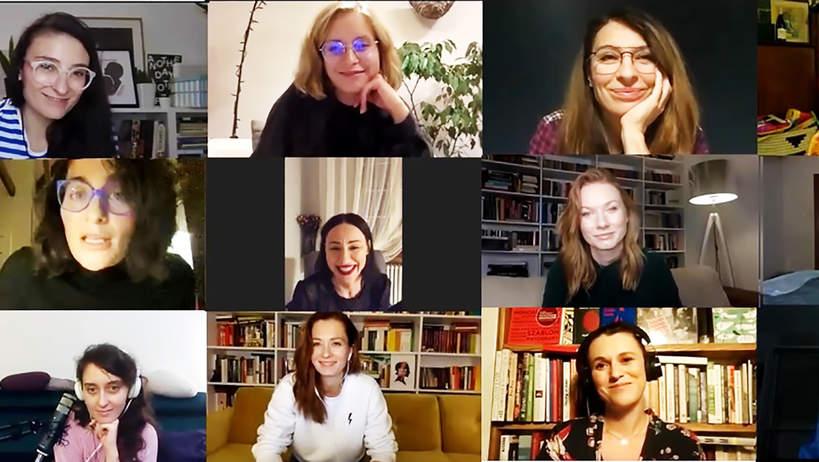Julia Kamińska, Anita Sokołowska, Maja Hirsch, Katarzyna Dąbrowska, Monologi Waginy