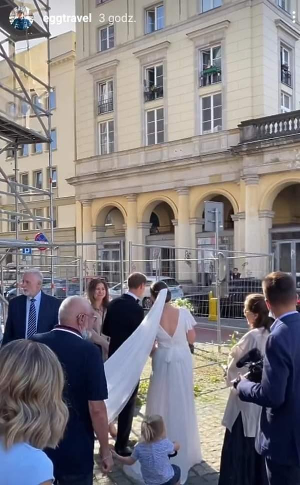 Julia Królikowska, ślub i wesele Julii Królikowskiej