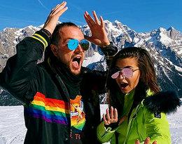 Julia Wieniawa i Baron na wakacjach