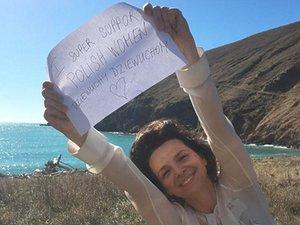 Juliette Binoche wspiera polskie kobiety