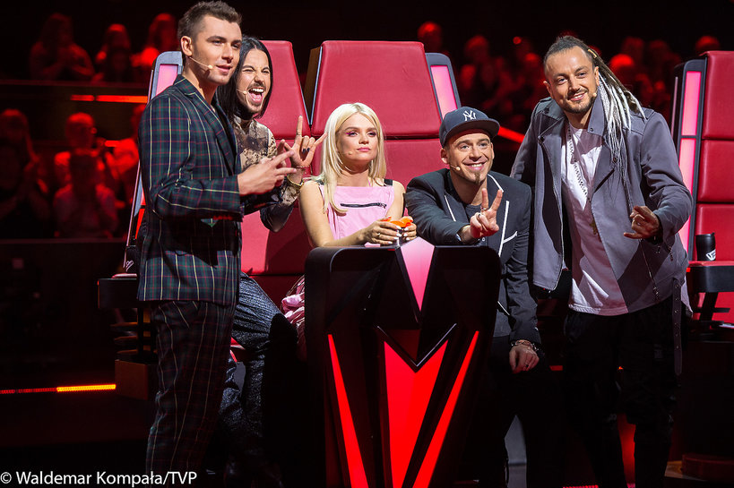 Jurorzy The Voice of Poland 10: Margaret, Kamil Bednarek, Michał Szpak, Tomson i Baron