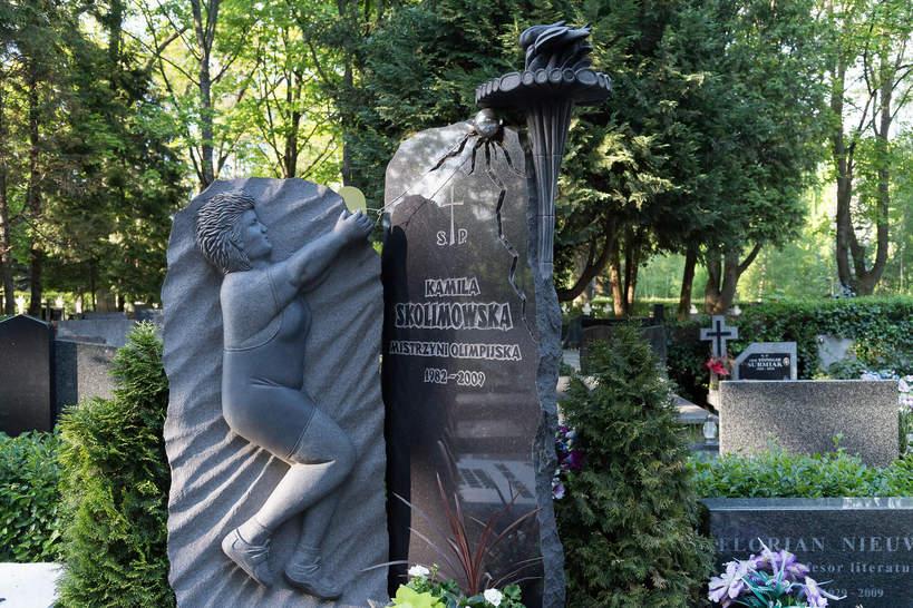 Kamila Skolimowska, grób Kamili Skolimowskiej, Warszawa, Powązki, 17.05.2021 rok