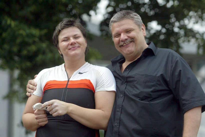 Kamila Skolimowska, ojciec Kamili Skolimowskiej, Robert Skolimowski, Memoriał Janusza Kusocińskiego, 18.06.2006 rok