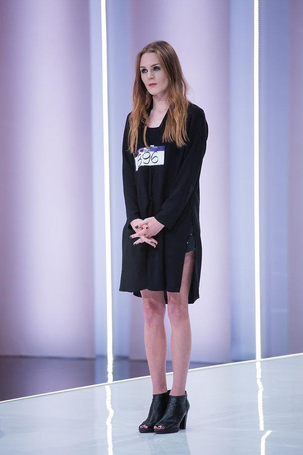 Kamila Warzecha na castingu w Top Model 6