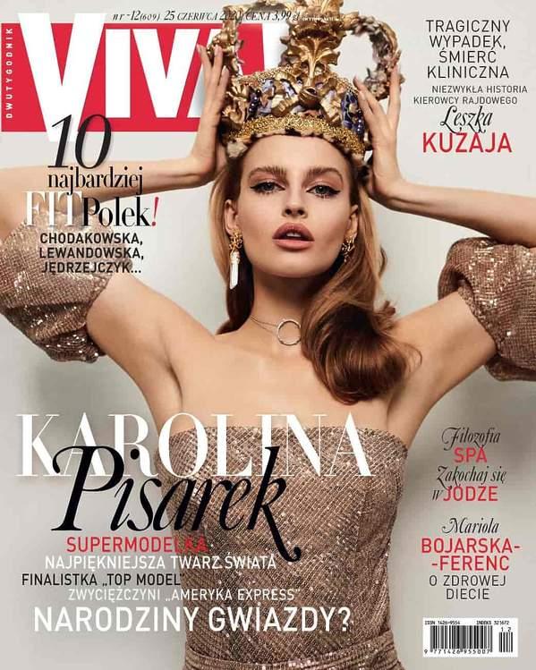 Karolina Pisarek, VIVA 12/2020, MNIEJSZA OKŁADKA