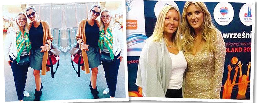 Karolina Szostak i Maryla Szostak, Karolina Szostak pokazała, jak wygląda jej mama Maryla