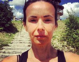 Kasia Kowalska bez makijażu