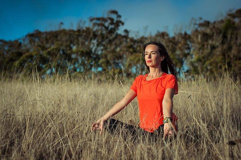 Kasia Kowalska, joga