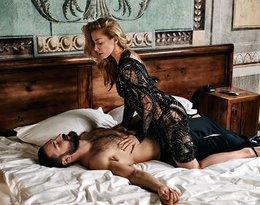 Kasia Warnke i Piotr Stramowski w łóżku