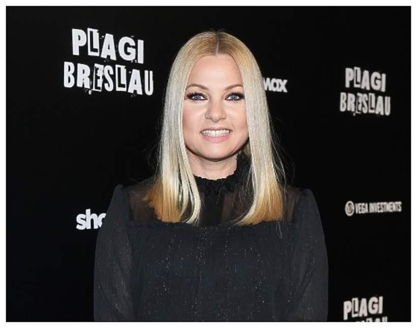 Katarzyna Bujakiewicz, 11.12.2018, Warszawa, premiera filmu Plagi Breslau